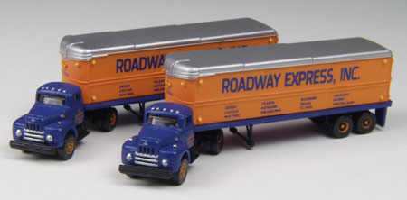 Roadway Tractor Trailer set