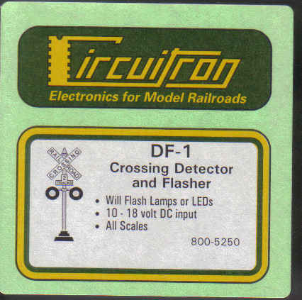 DF-1 Crossing Detector & Flasher