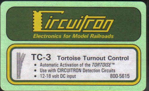 TC-3 Tortoise Turnout Control