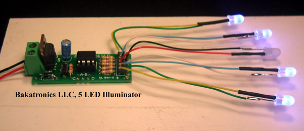 BK105 LED Illuminator Kit
