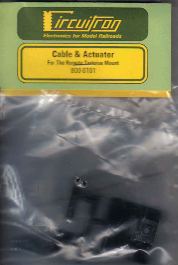 Cable & Actuator for remote Tortoise Mount