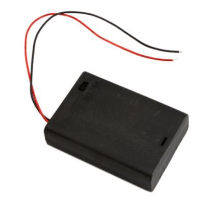 Battery Holder 3 AA (supplied Loose)