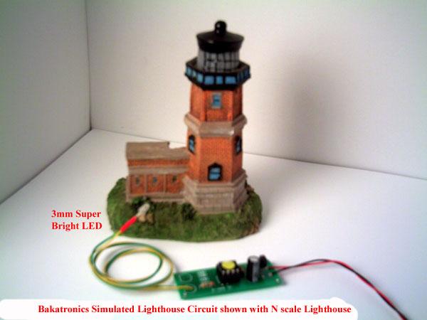 bk 100 lighthouse flasher kitCircuit Project Lighthouse Led Flasher #18