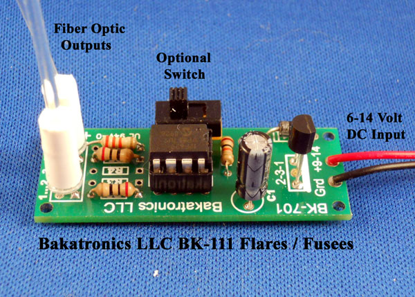 BK-111 Simulated Flares / Fusees Kit