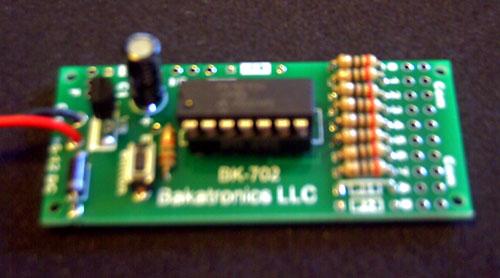 BK207 8 LED Multi Chaser Kit