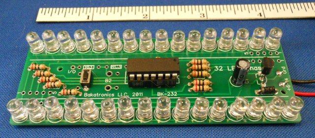 BK-232 Chaser Kit, 32 LEDs