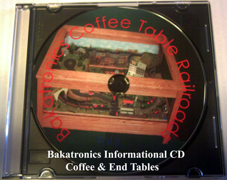 Coffee Table Informational Video CD