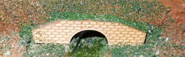 Brick    Culvert in Scene
