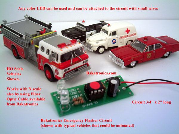 Ho scale emergency vehicle lights australia