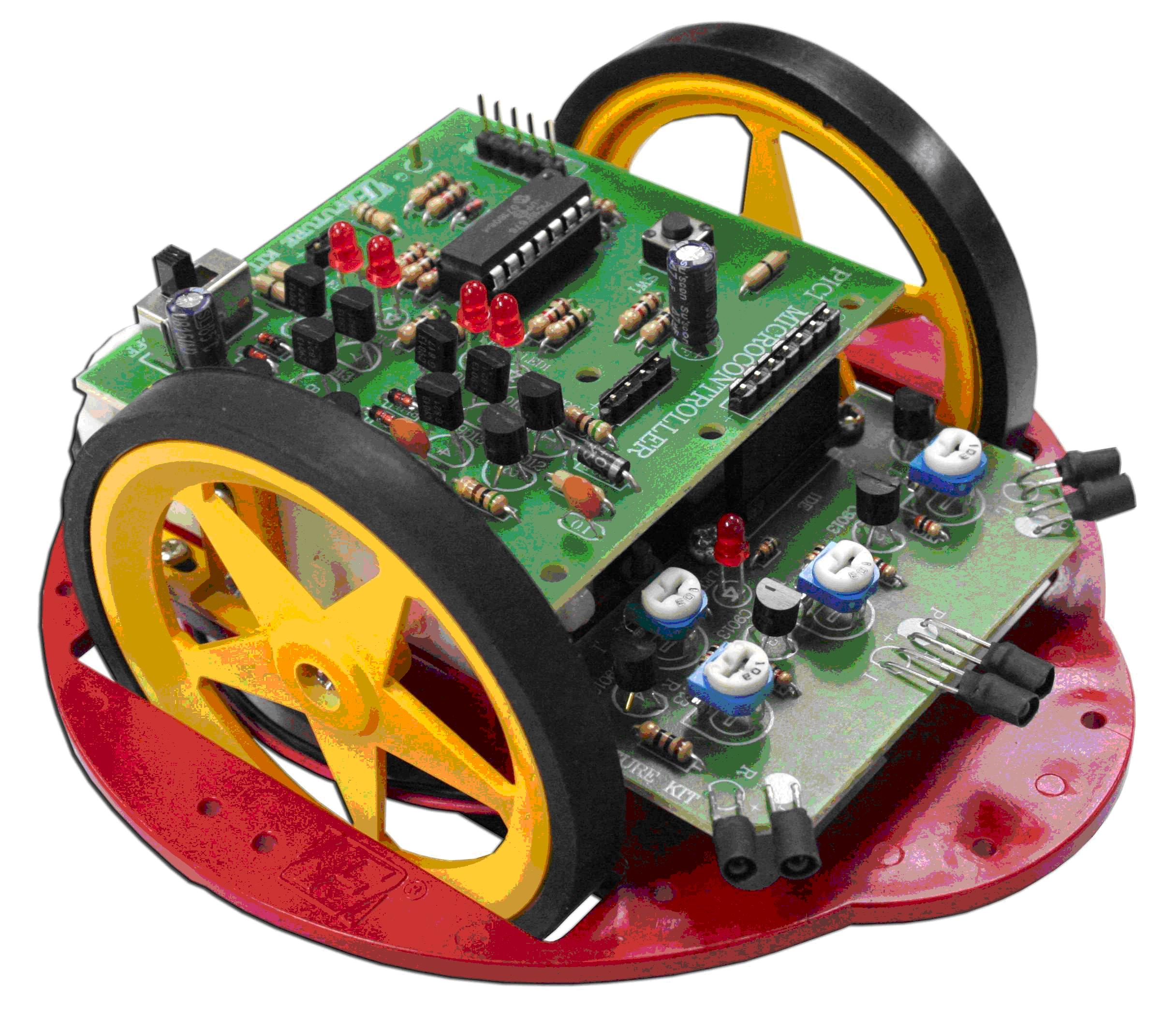 FA1111 Pic1 Obstacle Avoiding Robot (Fully Assembled)