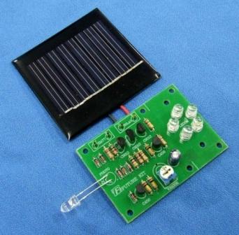 FK1004 Solar 5 LED Nite Lite