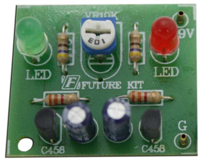 FK109  Alternating Flasher, 2 LEDs