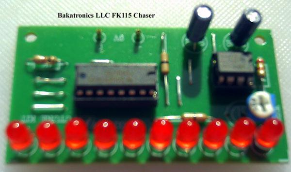 FK115 Chaser Kit, 10 LED