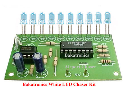 Chasing LED Kit-White for Airports