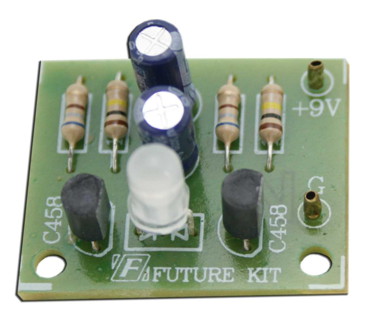 FK134  Two Color LED Flasher Kit