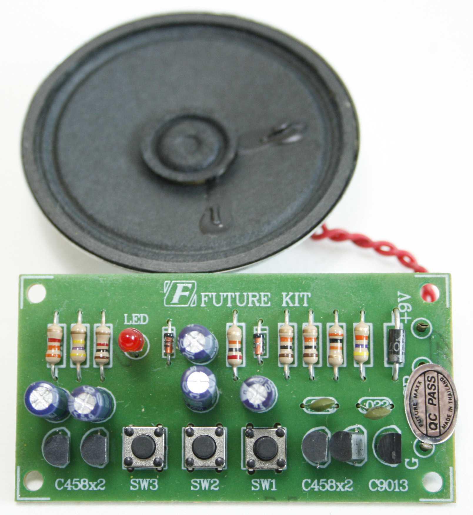 Fk272 Space Gun 3 Tone Electronic Circuit Design Review