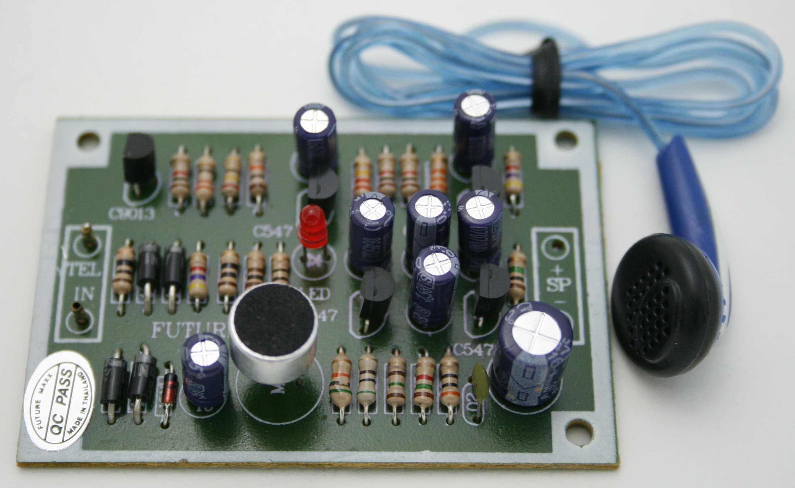 FK310: MINI TELEPHONE CIRCUIT