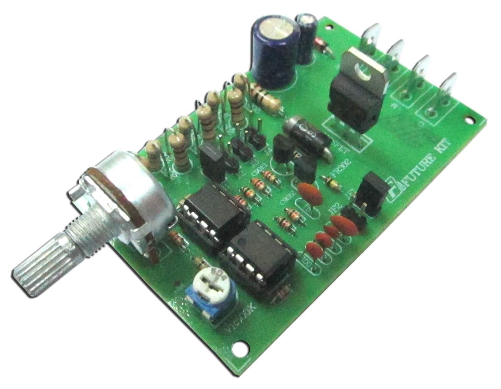 FK823 DC Motor Speed Control, 12-50 VDC 5amp