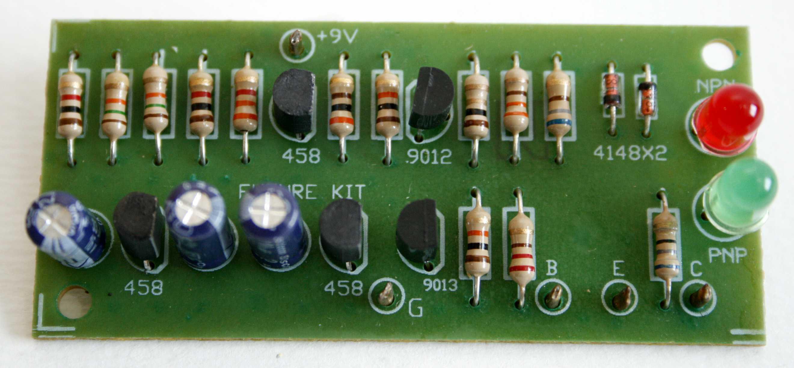 FK907: IN CIRCUIT TRANSISTOR CHECKER