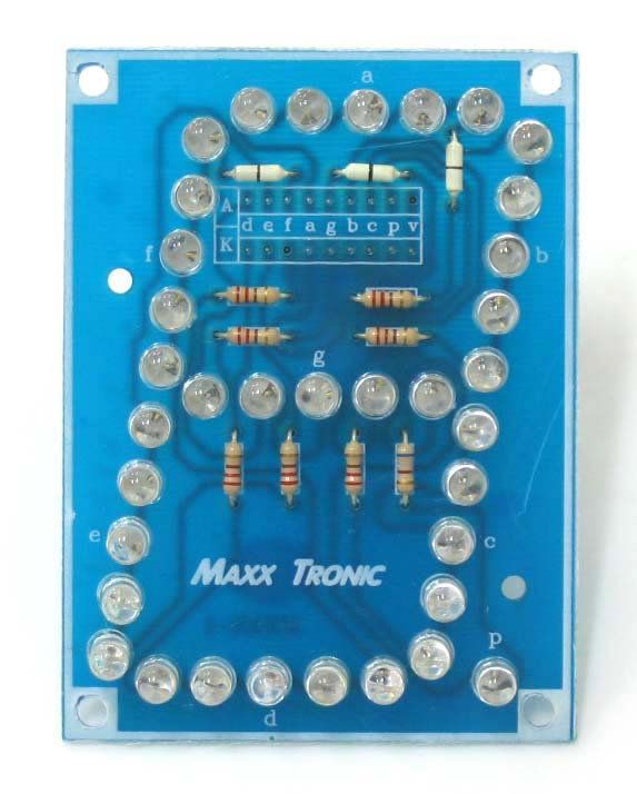 "MXA001 SEVEN SEGMENT DISPLAY 3"" (Ultra-Bright LEDs)"