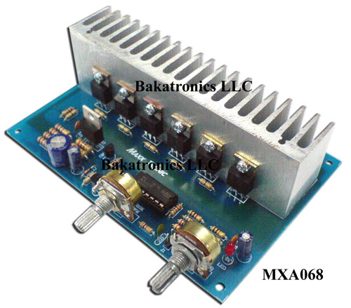 MXA068 Heavy Duty 50 AM PWM DC Control