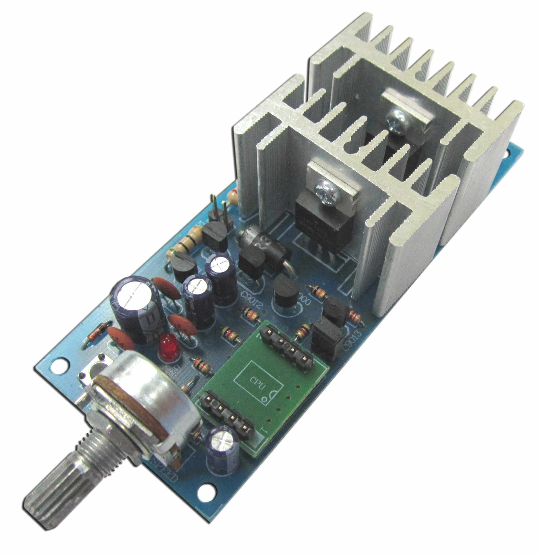 MXA089 DC Motor Speed Control, Soft Start