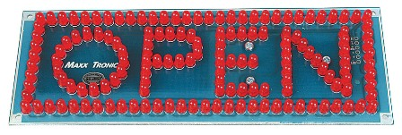 MX058 Open Signboard 150 LEDs