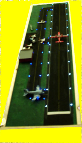BR-400 Runway Lighting Kit, N Scale