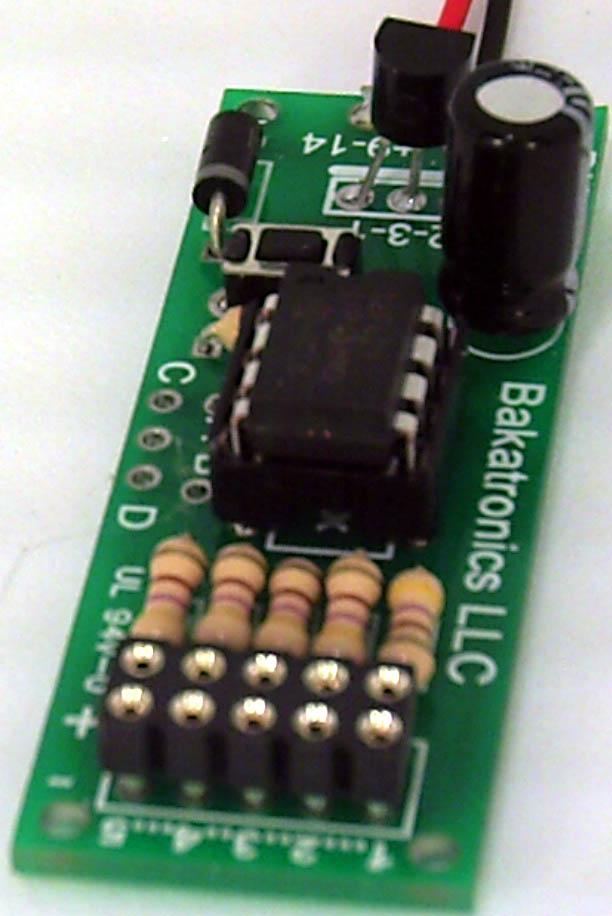BK107 5 LED Multi Chaser Kit