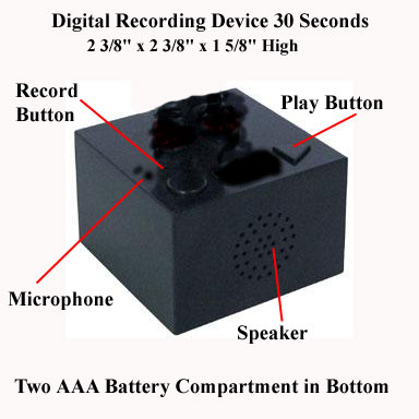 DVR-30 30 second Digital Voce Recorder