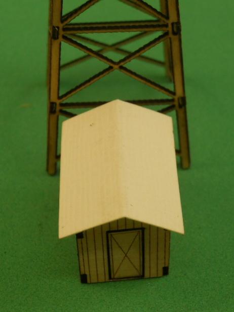 BS-100 Tower Shack building Kit, N Scale