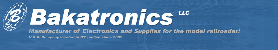 Manufacturer of Electronics... With over 500 different Electronic Kits and Model Railroad items to choose from!