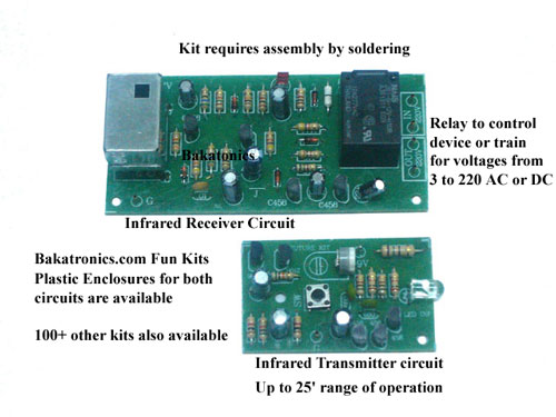 FK410 Infrared Transmitter & Receiver