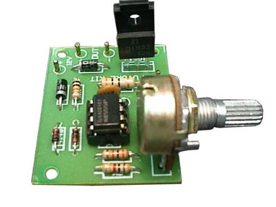 PWM DC Motor Speed Controller, 1.5 Amps
