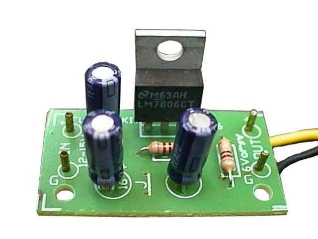 fk805 step down voltage converterThe Step Down 12 Volts To 6 Volts Dc Converter #7