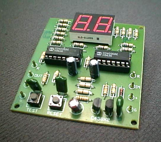 FK926 Two Digit Counter Circuit