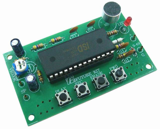 FK941 Digital Voice Recorder Kit