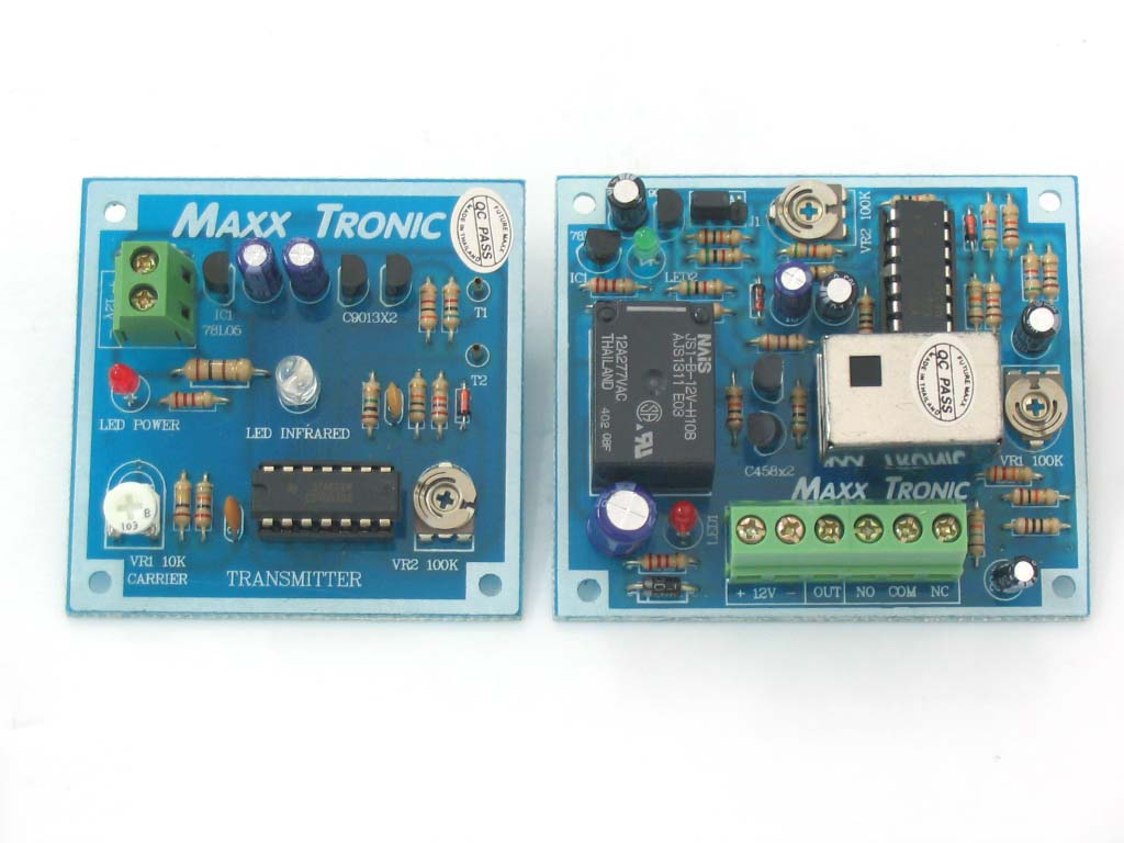 MX011 Infrared Sensor, Tx & Rx Circuits