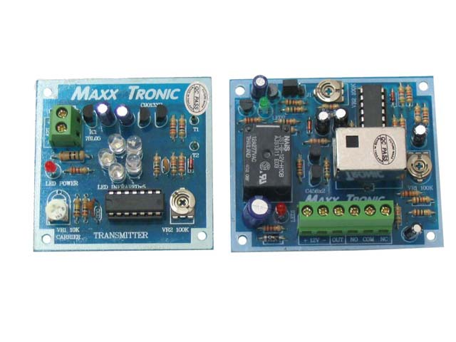 MX012 Infrared Sensor, Tx & Rx Circuits