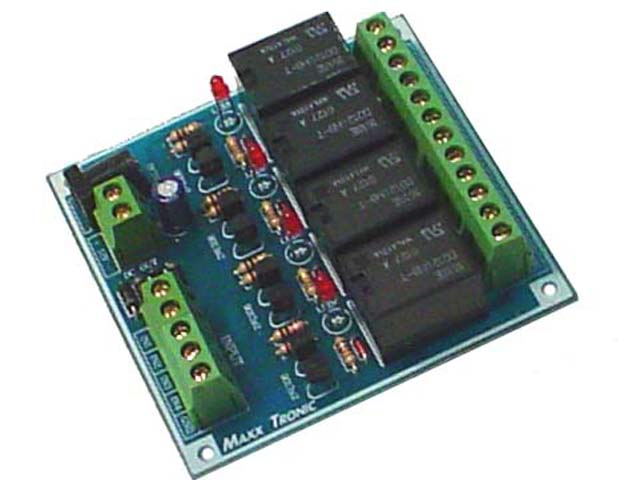 MX017 4 Channel Relay Card