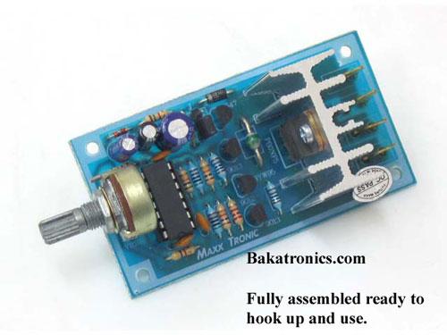 PWM DC Motor Speed Controller, 15 Amp (MXA033)