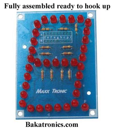 "MX034 3"" Seven Segment Display"