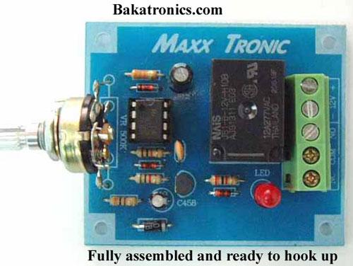 MX041 Delay Timer, 3-30 Sec