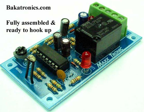 MX049 Night Activated Relay Device