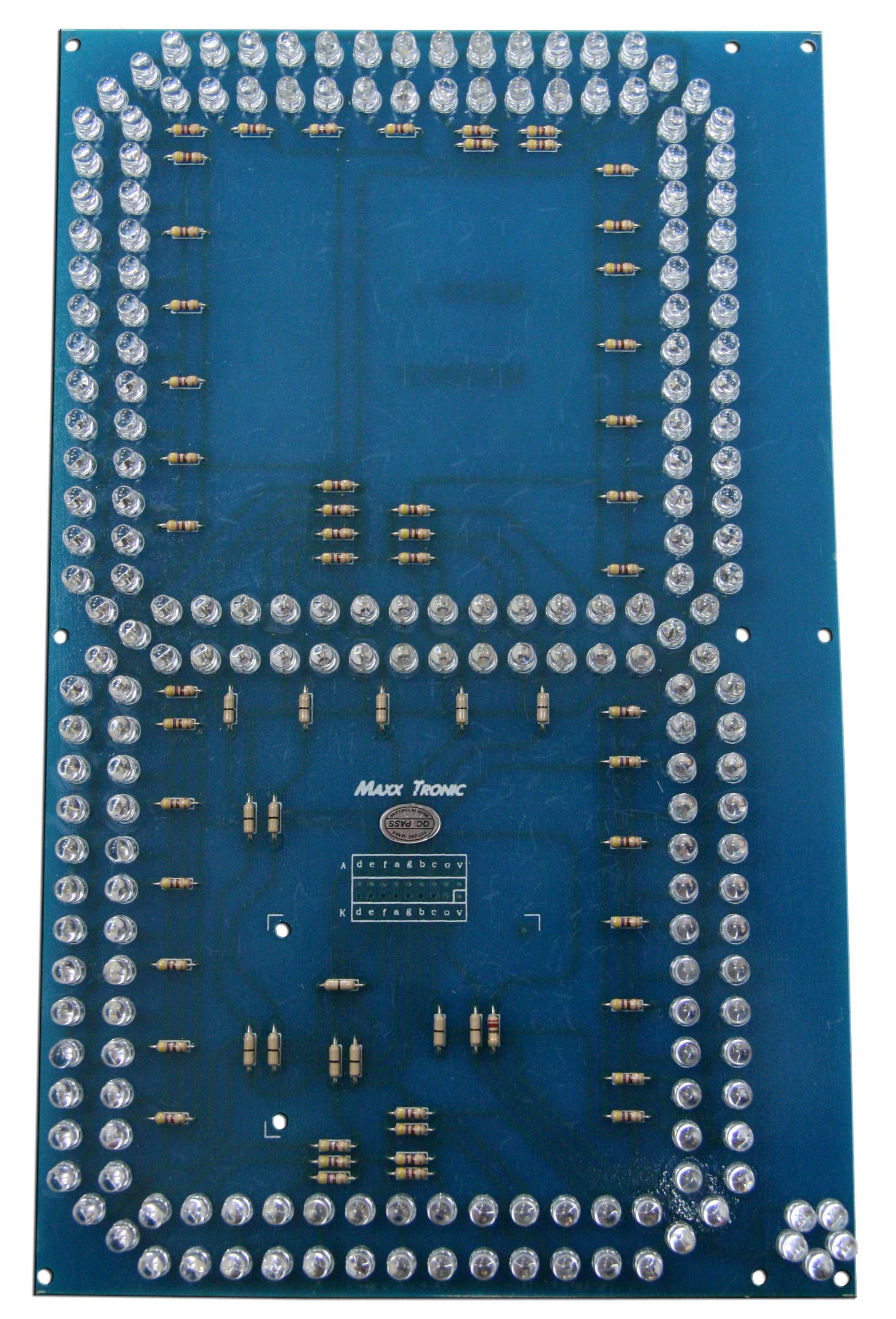 "MXA078 SEVEN SEGMENT DISPLAY (10"" ULTRA-BRIGHT LEDs)"