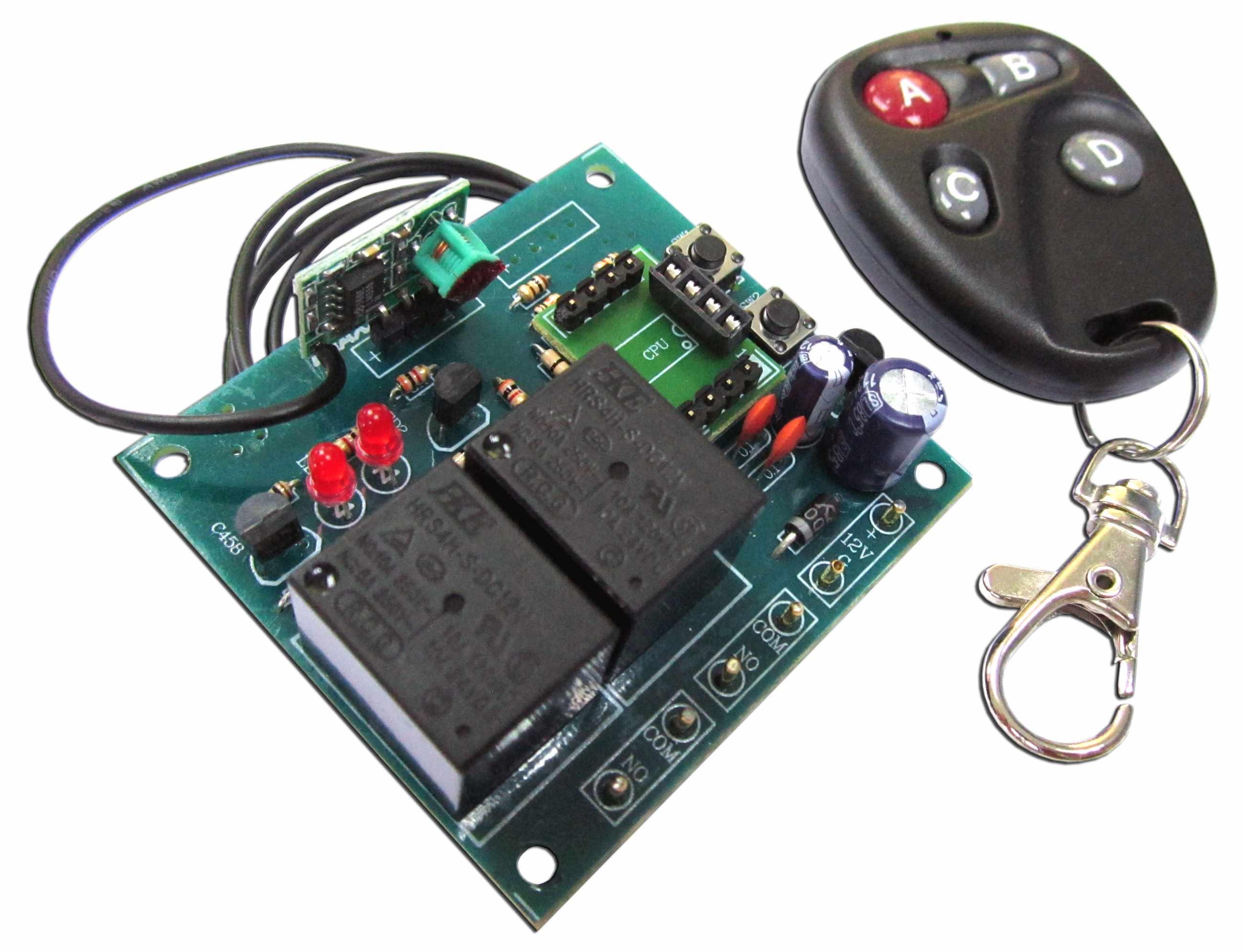 MXA107 2 Channel UHF Remote Control